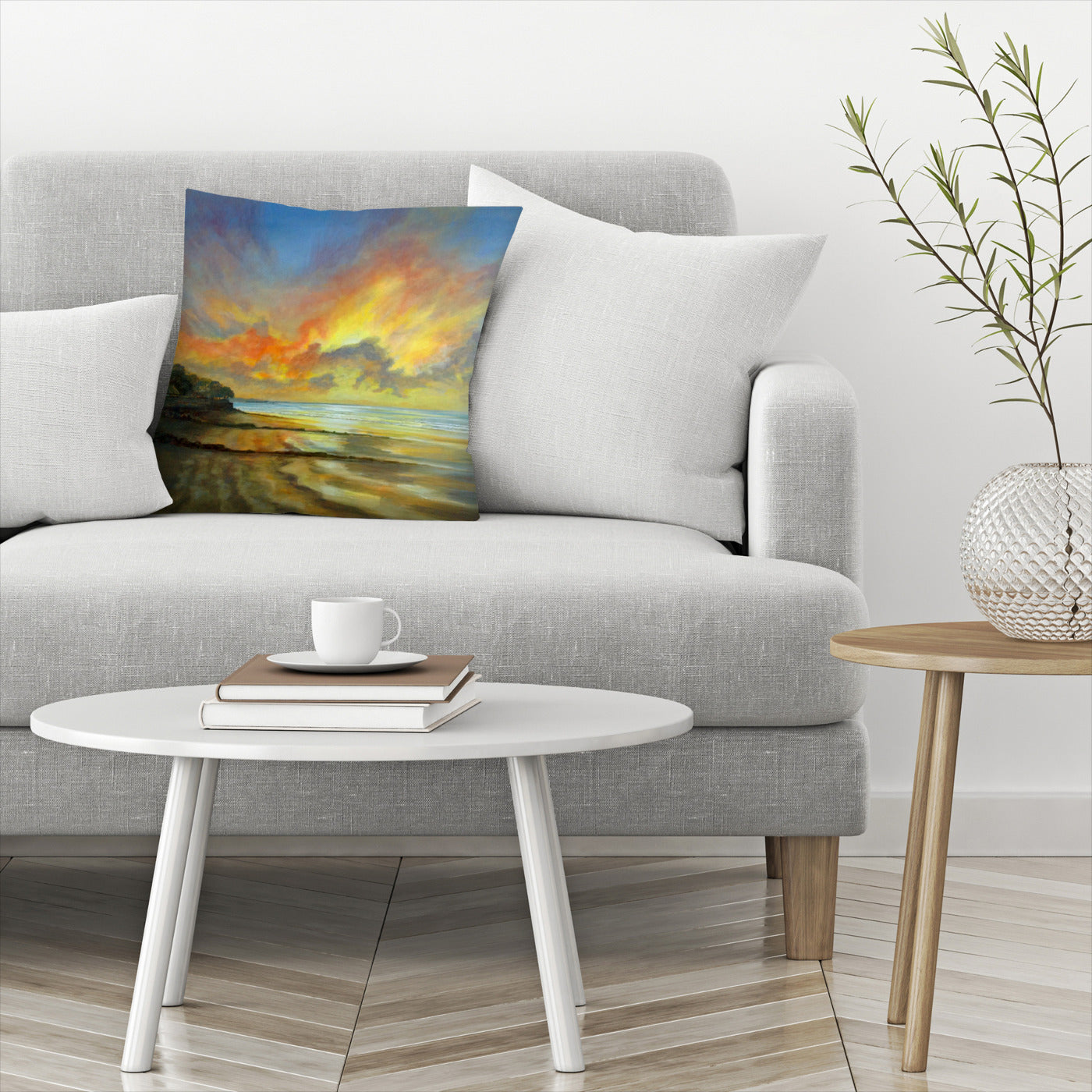 Sunset by Sandra Francis Decorative Pillow - Decorative Pillow - Americanflat
