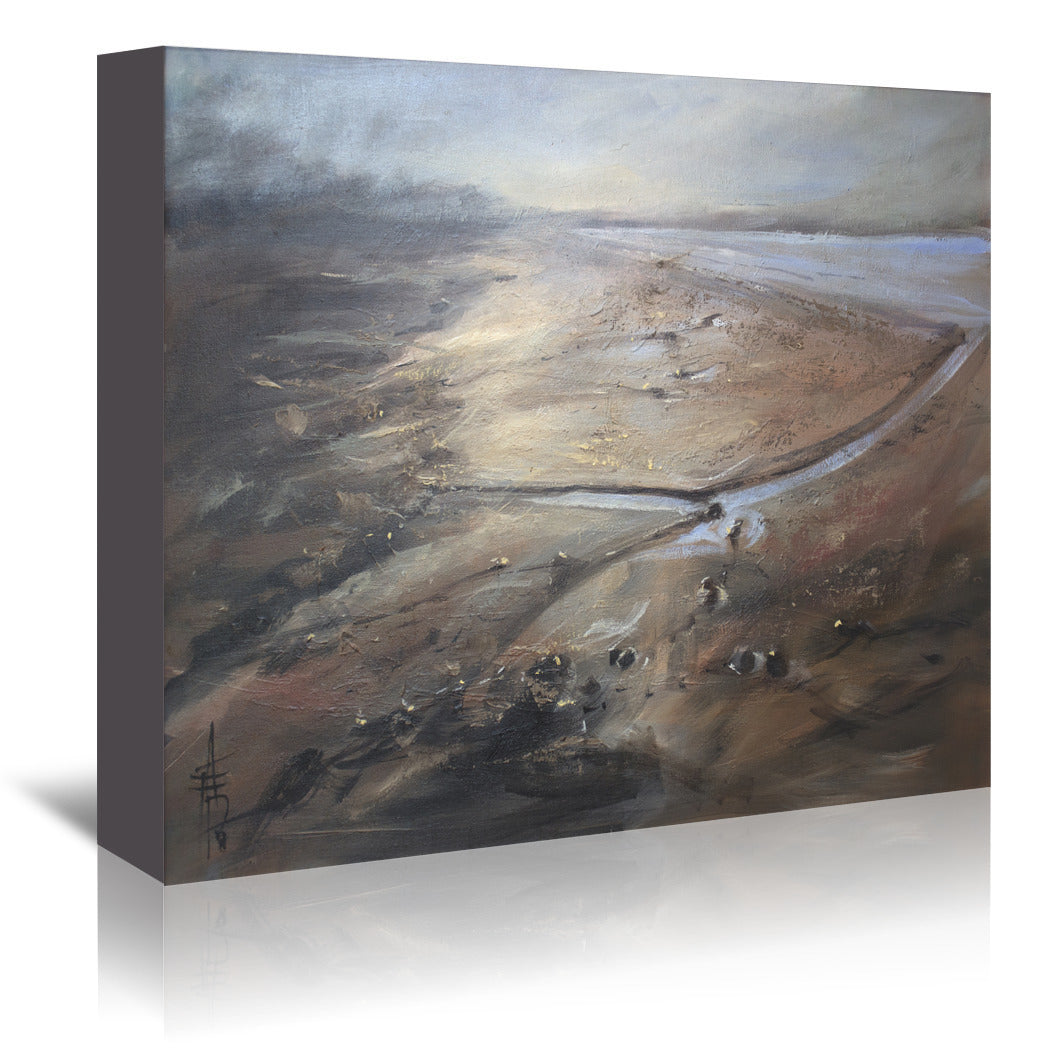 River by Anne Farrall Doyle Wrapped Canvas - Wrapped Canvas - Americanflat