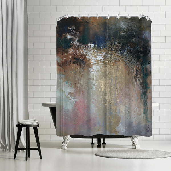 Netting by Anne Farrall Doyle Shower Curtain