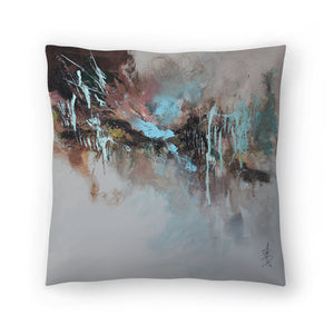 Bluebell Sway by Anne Farrall Doyle Decorative Pillow