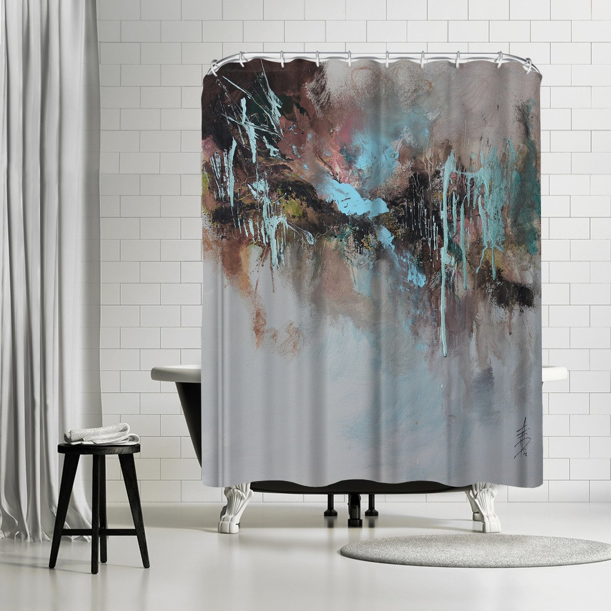 Bluebell Sway by Anne Farrall Doyle Shower Curtain - Shower Curtain - Americanflat