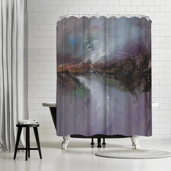Embankment 2 by Anne Farrall Doyle Shower Curtain