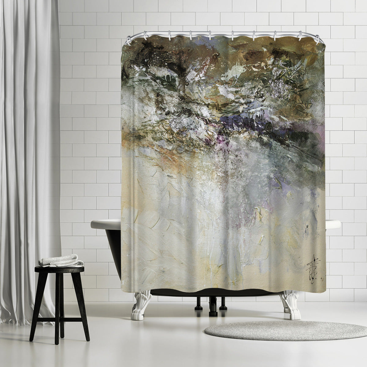 Organic by Anne Farrall Doyle Shower Curtain - Shower Curtain - Americanflat