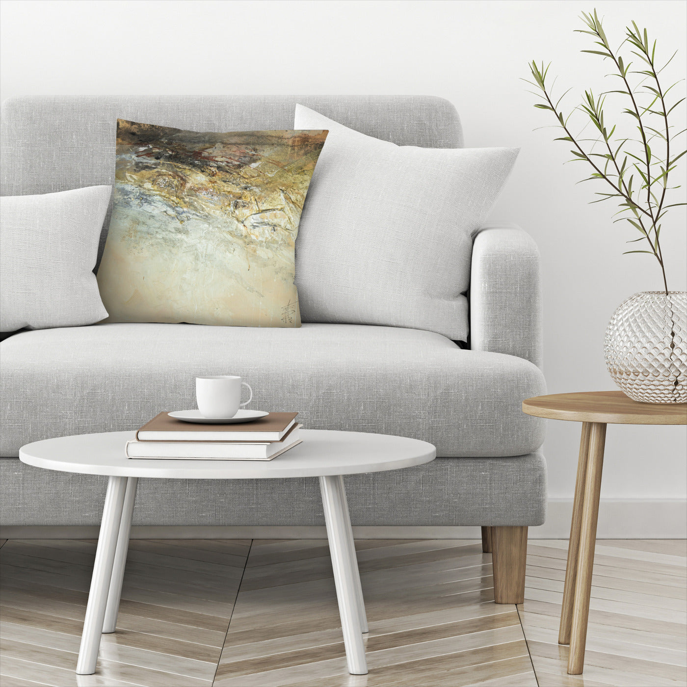 Organic 6 by Anne Farrall Doyle Decorative Pillow - Decorative Pillow - Americanflat