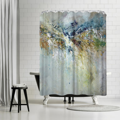 Organic 7 by Anne Farrall Doyle Shower Curtain -  - Americanflat