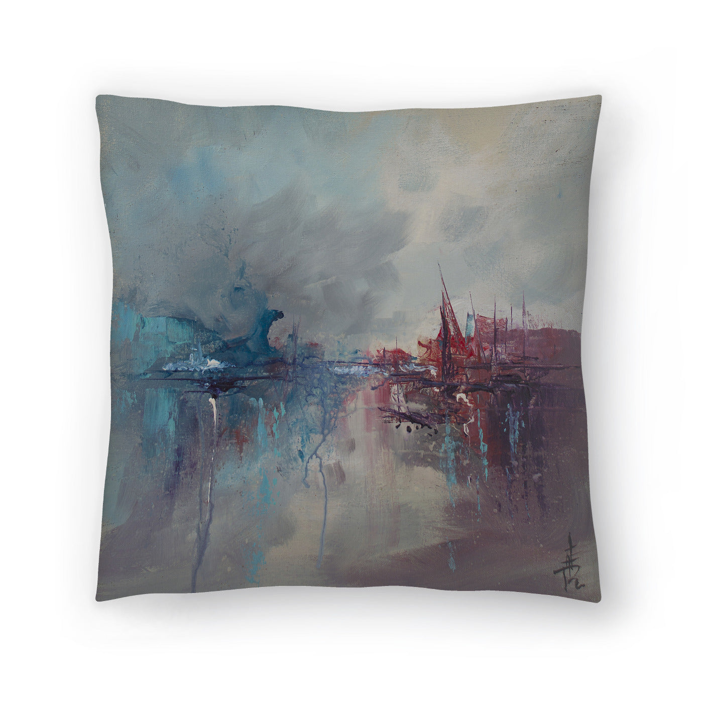 Rapture 2 by Anne Farrall Doyle Decorative Pillow - Decorative Pillow - Americanflat