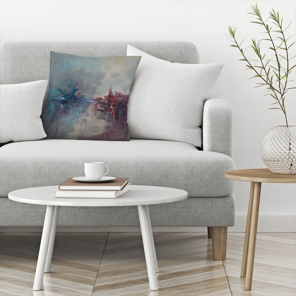 Rapture 2 by Anne Farrall Doyle Decorative Pillow