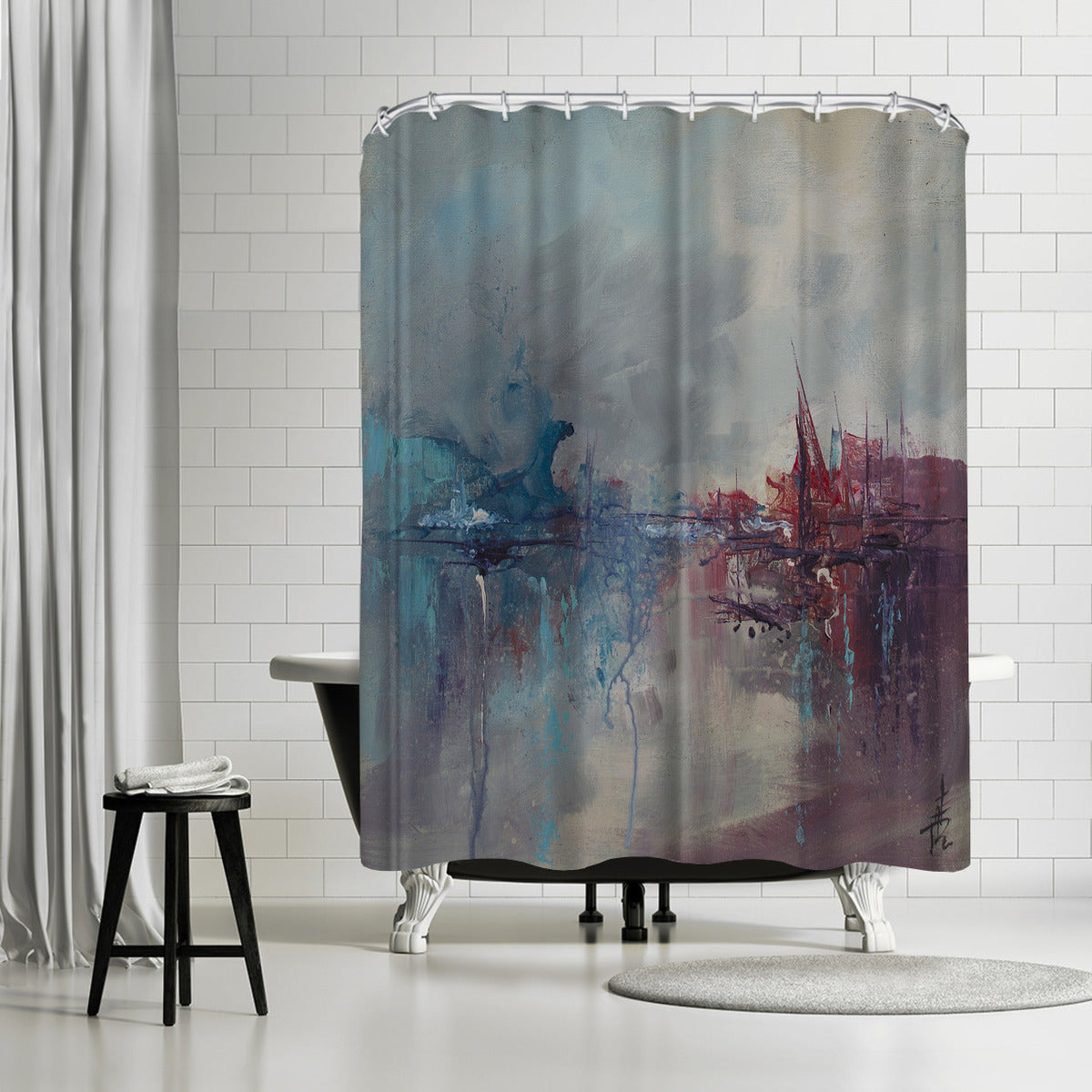 Rapture 2 by Anne Farrall Doyle Shower Curtain - Shower Curtain - Americanflat