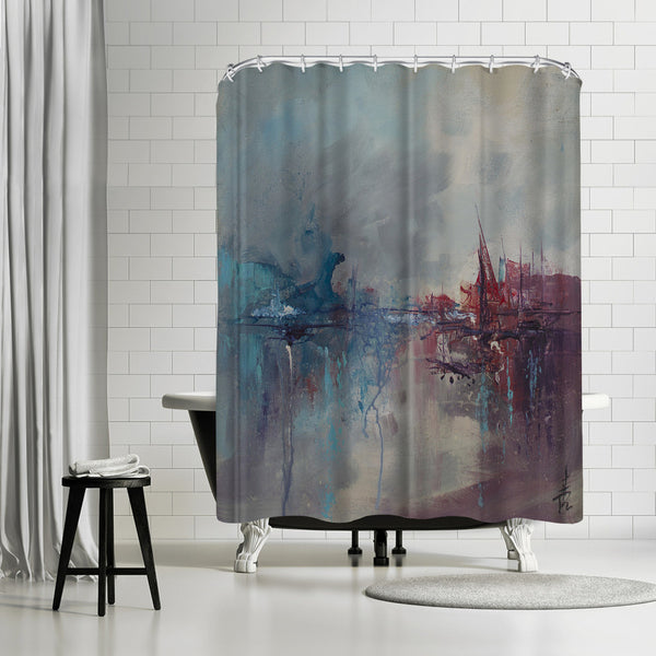 Rapture 2 by Anne Farrall Doyle Shower Curtain