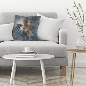 Red Kite Sighting Quarry by Anne Farrall Doyle Decorative Pillow
