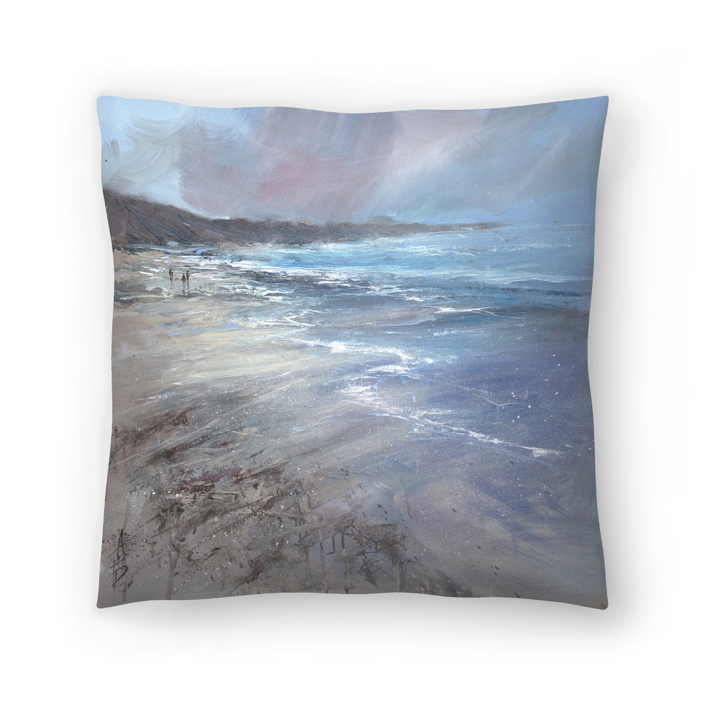 Whipping Winds by Anne Farrall Doyle Decorative Pillow - Decorative Pillow - Americanflat