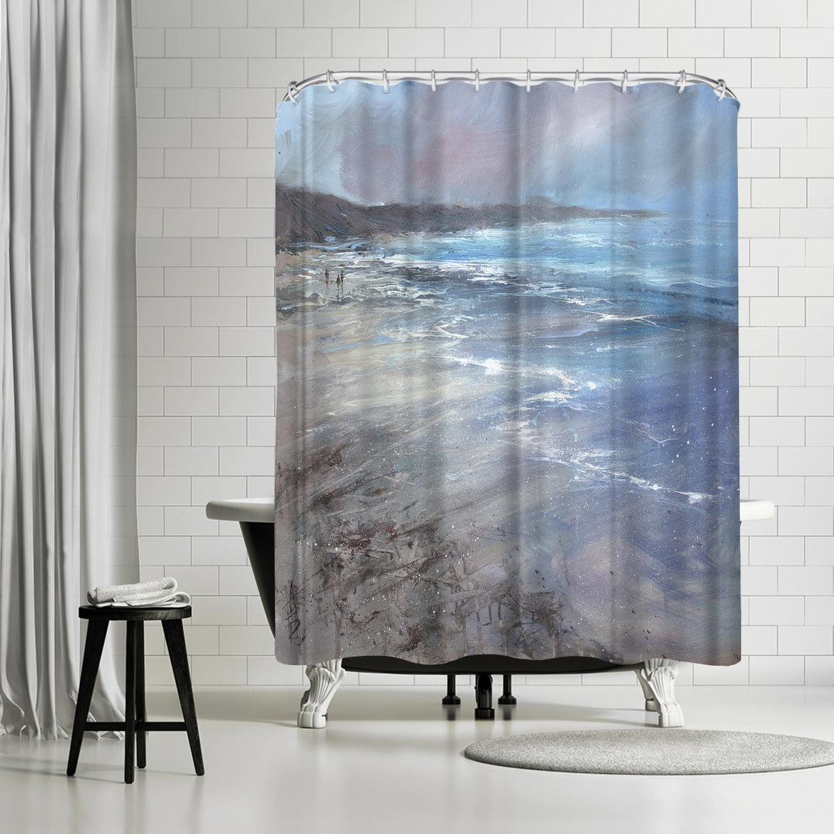 Whipping Winds by Anne Farrall Doyle Shower Curtain -  - Americanflat