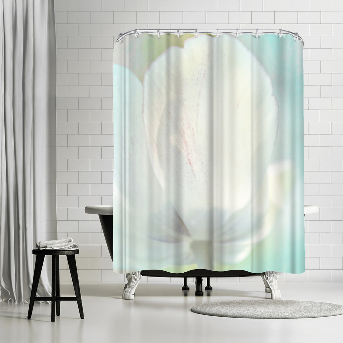 Tulip Sonnet by Mirja Paljakka Shower Curtain -  - Americanflat