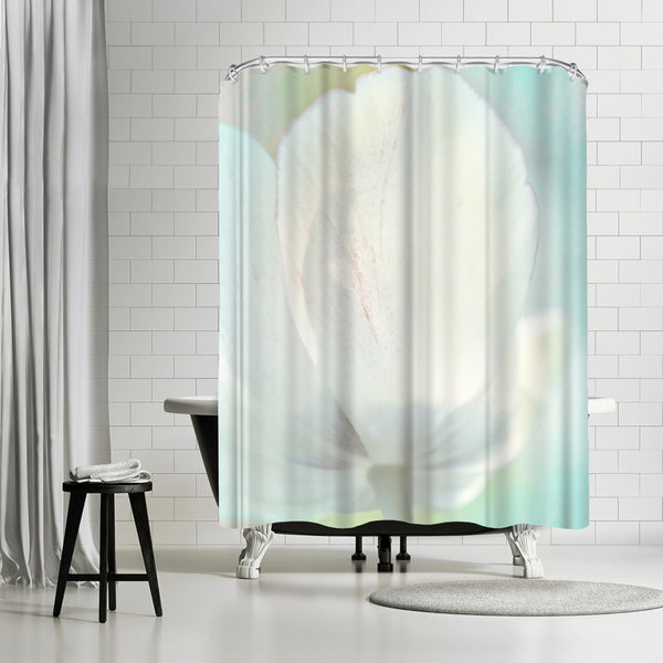 Tulip Sonnet by Mirja Paljakka Shower Curtain