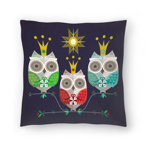 Owls by Amanda Shufflebotham Decorative Pillow