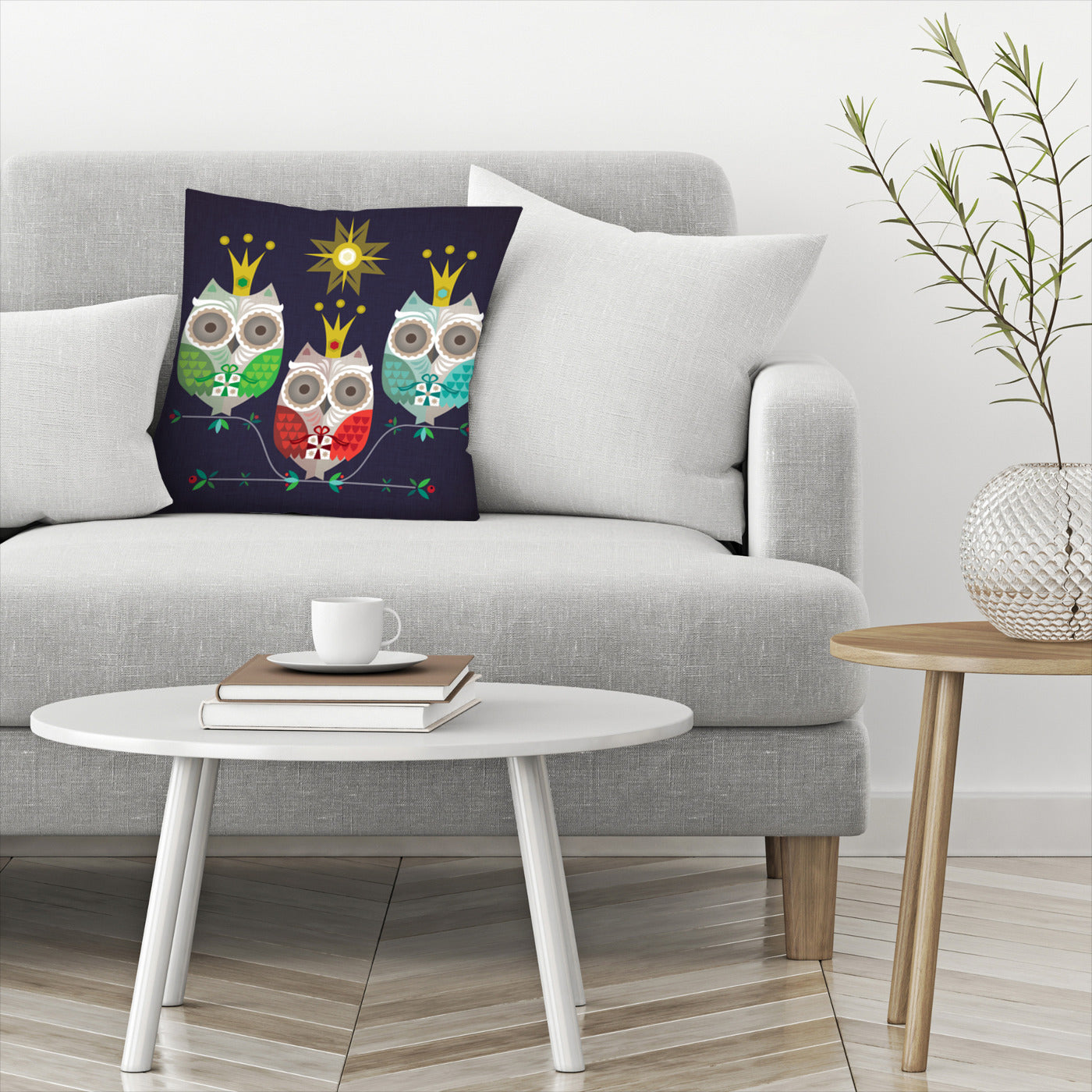 Owls by Amanda Shufflebotham Decorative Pillow - Decorative Pillow - Americanflat