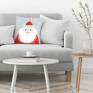 Christmas Santa by Amanda Shufflebotham Decorative Pillow