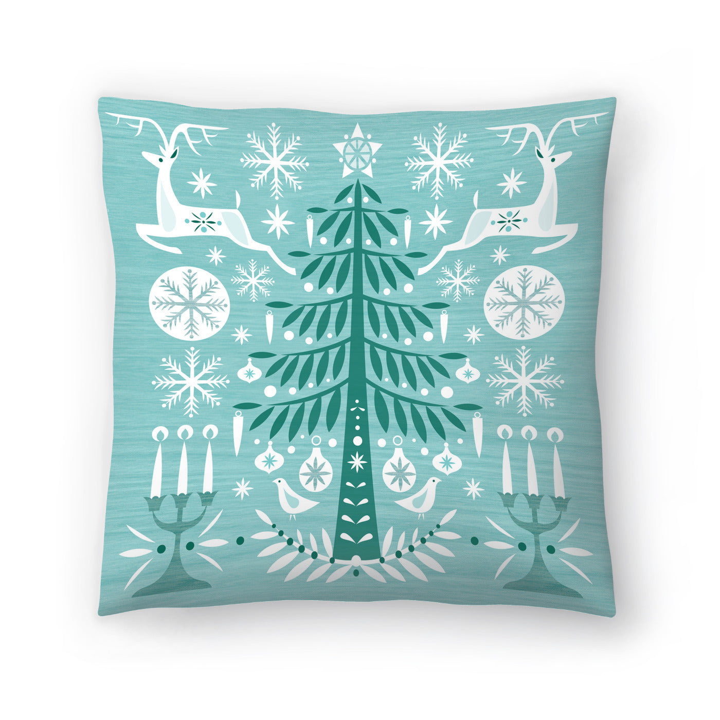 Green Woods by Amanda Shufflebotham Decorative Pillow - Decorative Pillow - Americanflat