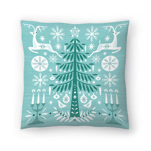 Green Woods by Amanda Shufflebotham Decorative Pillow