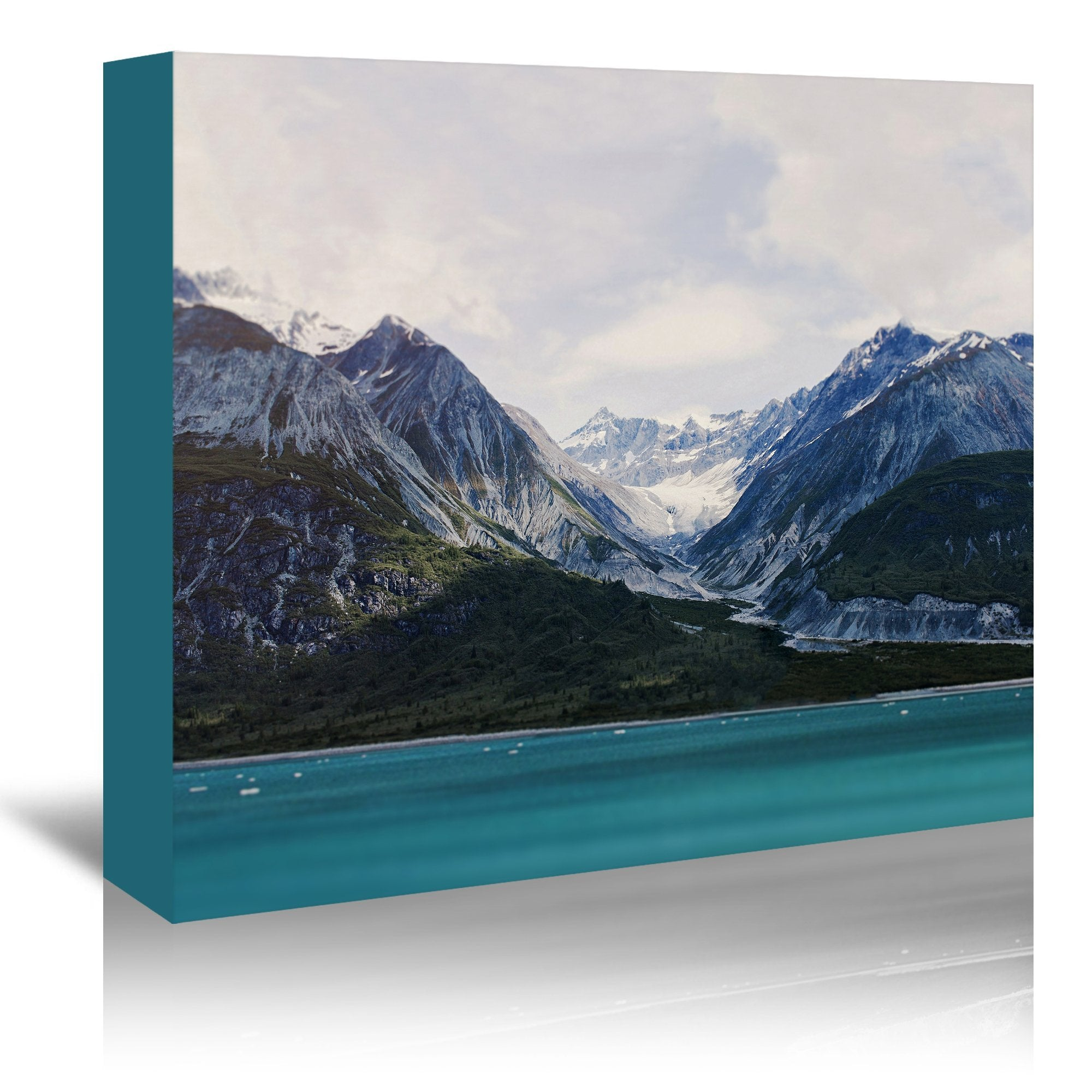 Alaska Wilderness by Leah Flores Wrapped Canvas - Wrapped Canvas - Americanflat