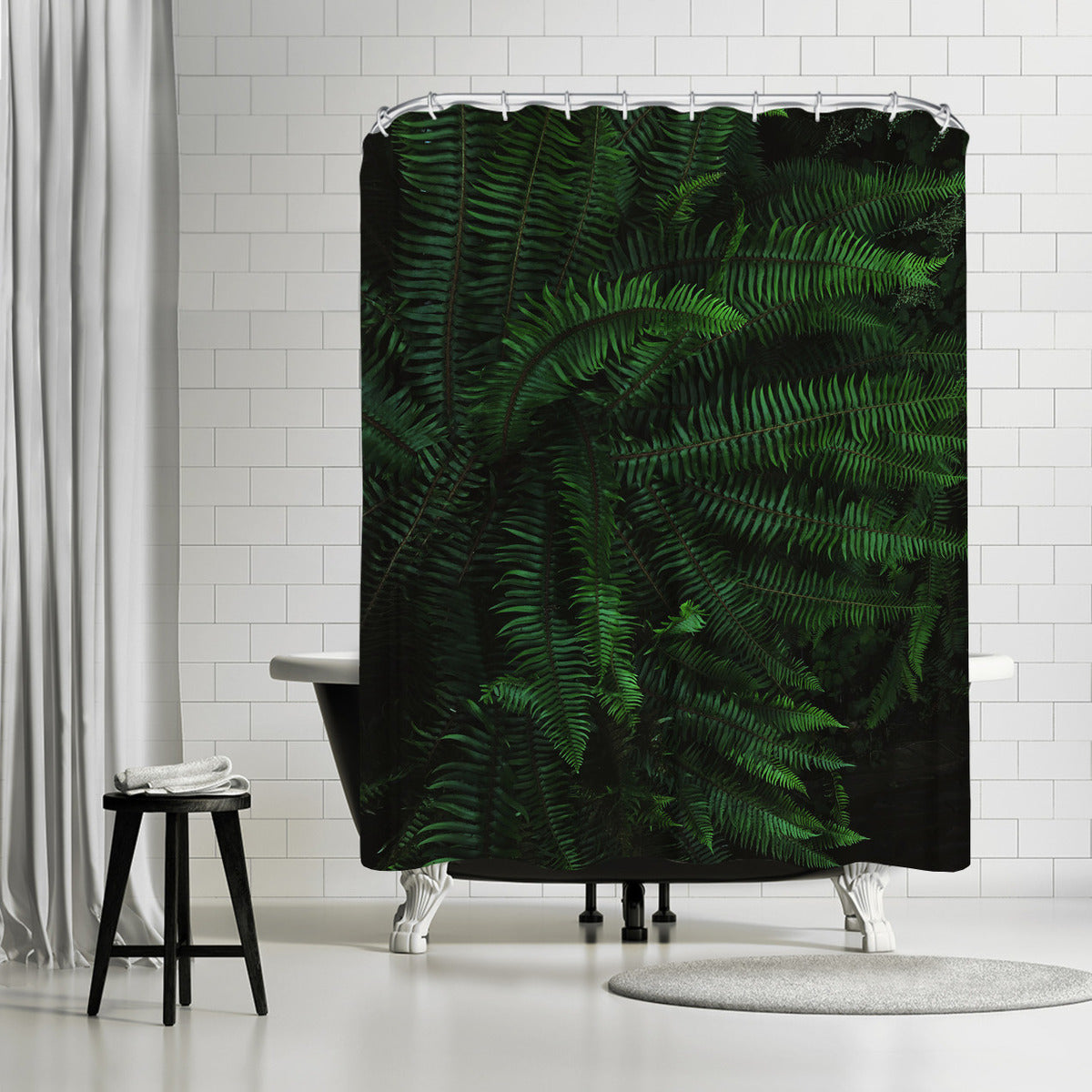 Fern Life by Leah Flores Shower Curtain - Shower Curtain - Americanflat