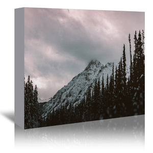 Mountain Love by Leah Flores Wrapped Canvas