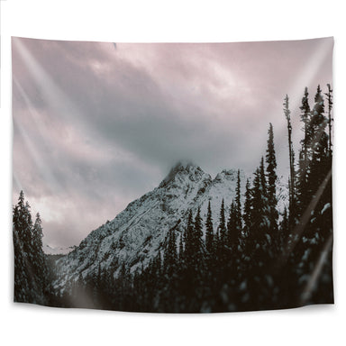 Mountain Love by Leah Flores Tapestry - Wall Tapestry - Americanflat
