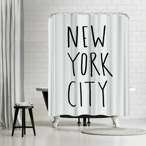 NYC by Leah Flores Shower Curtain