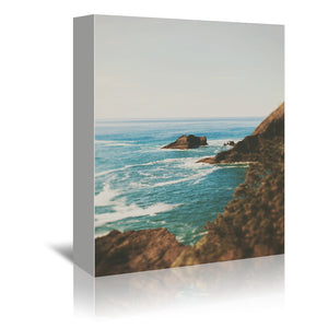 Oregon Coast by Leah Flores Wrapped Canvas
