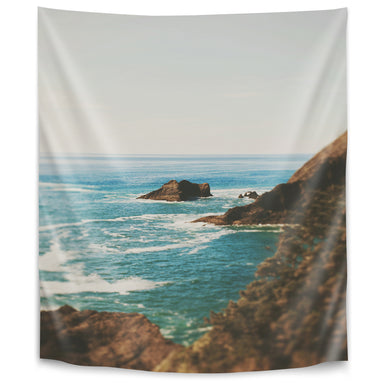 Oregon Coast by Leah Flores Tapestry - Wall Tapestry - Americanflat