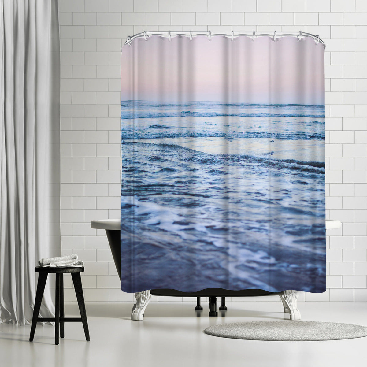 Pacific Dreaming by Leah Flores Shower Curtain - Shower Curtain - Americanflat