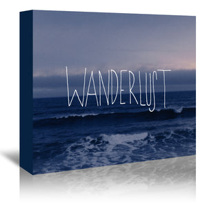 Wanderlust Ocean by Leah Flores Wrapped Canvas