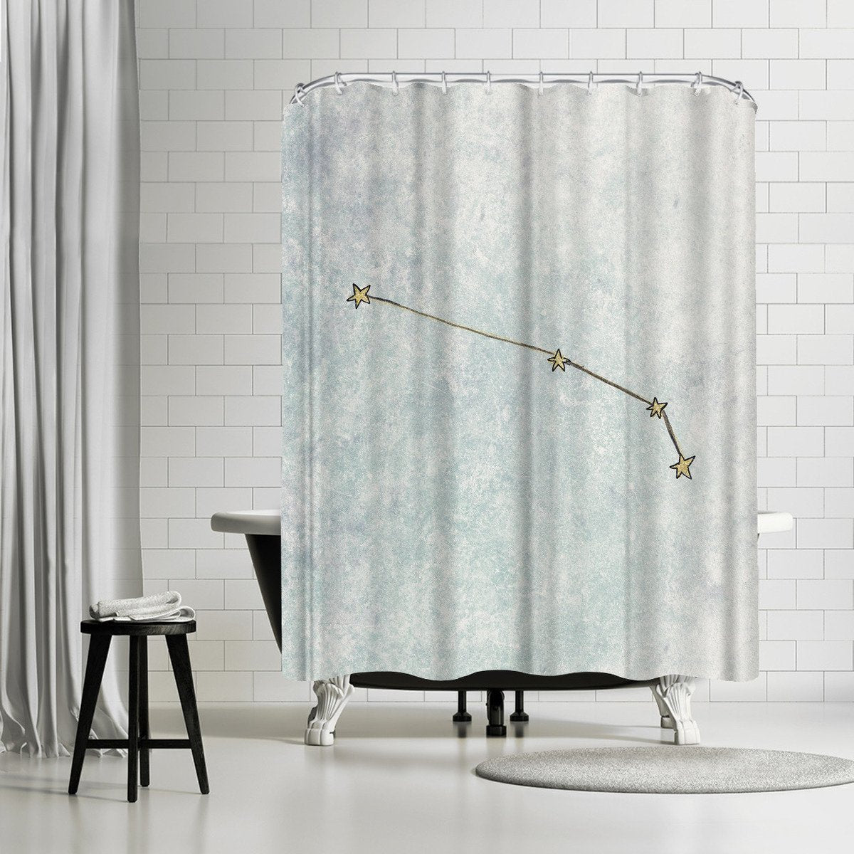 Aries by Leah Flores Shower Curtain - Shower Curtain - Americanflat