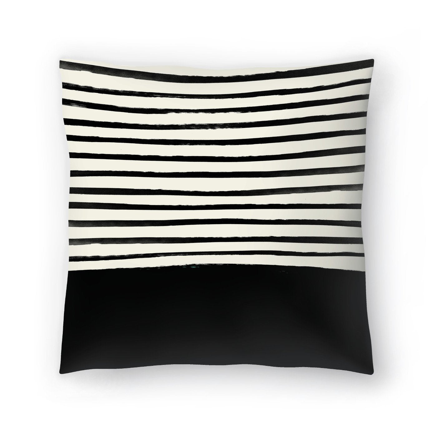 Black by Leah Flores  Decorative Pillow - Decorative Pillow - Americanflat