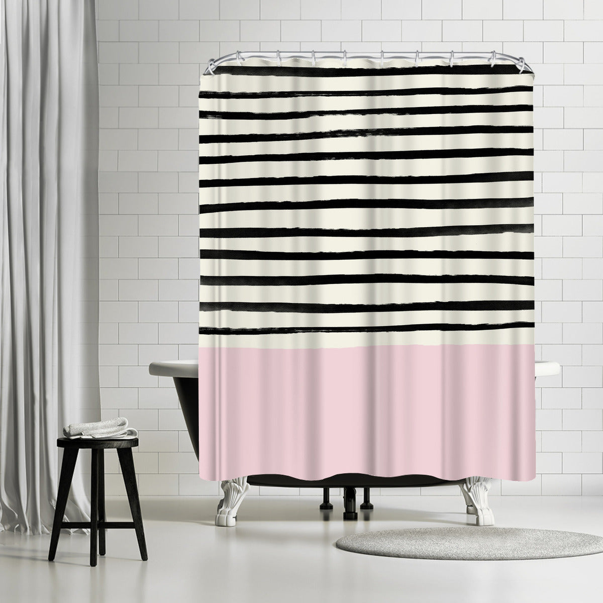 Bubblegum by Leah Flores Shower Curtain - Shower Curtain - Americanflat