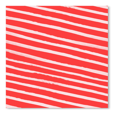 Candy Cane Stripes by Leah Flores Art Print - Art Print - Americanflat