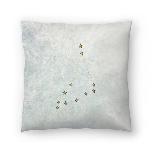 Capricorn by Leah Flores  Decorative Pillow