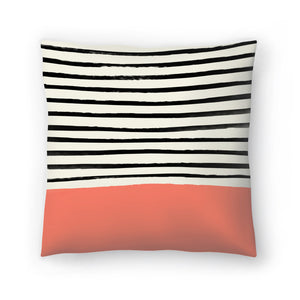 Coral by Leah Flores  Decorative Pillow