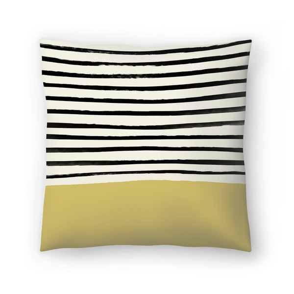 Daffodil by Leah Flores  Decorative Pillow