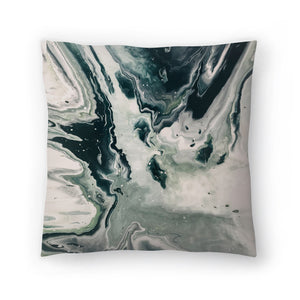 Galaxy Marble by Leah Flores  Decorative Pillow