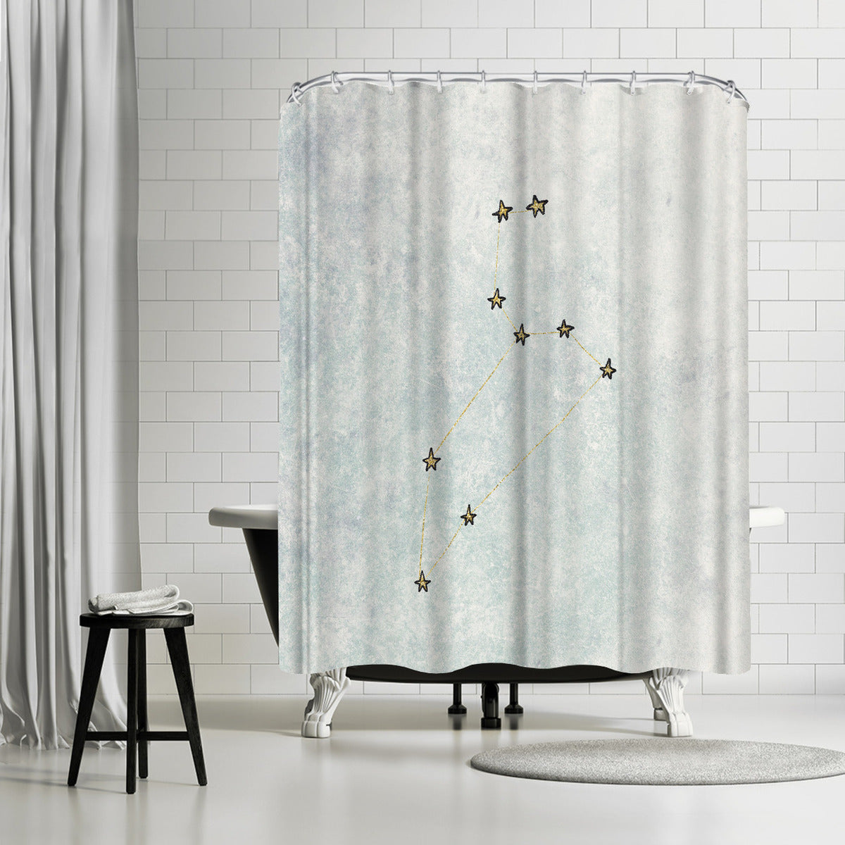 Leo by Leah Flores Shower Curtain - Shower Curtain - Americanflat