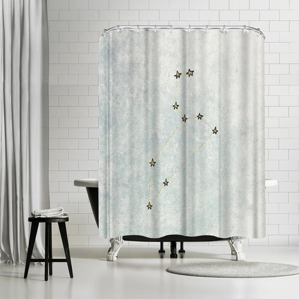 Leo by Leah Flores Shower Curtain
