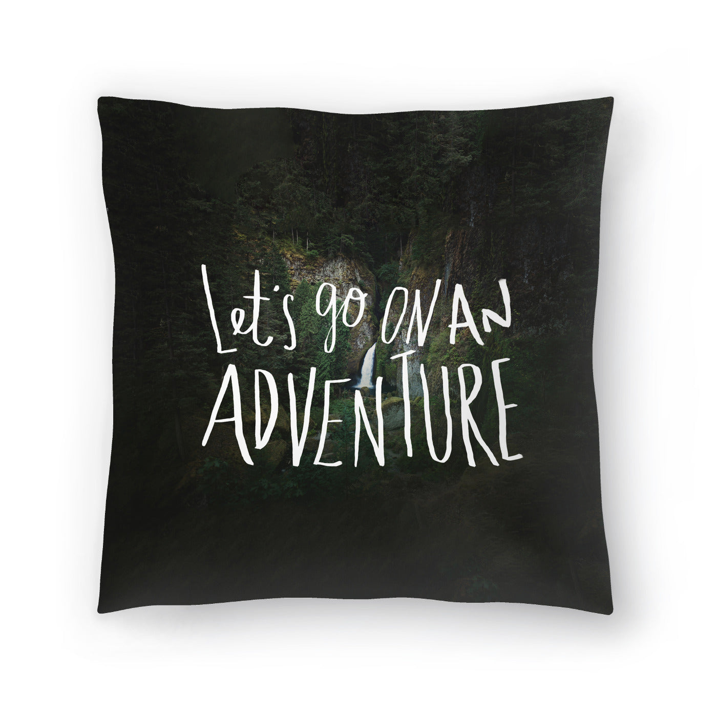 Lets Go On An Adventure by Leah Flores  Decorative Pillow - Decorative Pillow - Americanflat