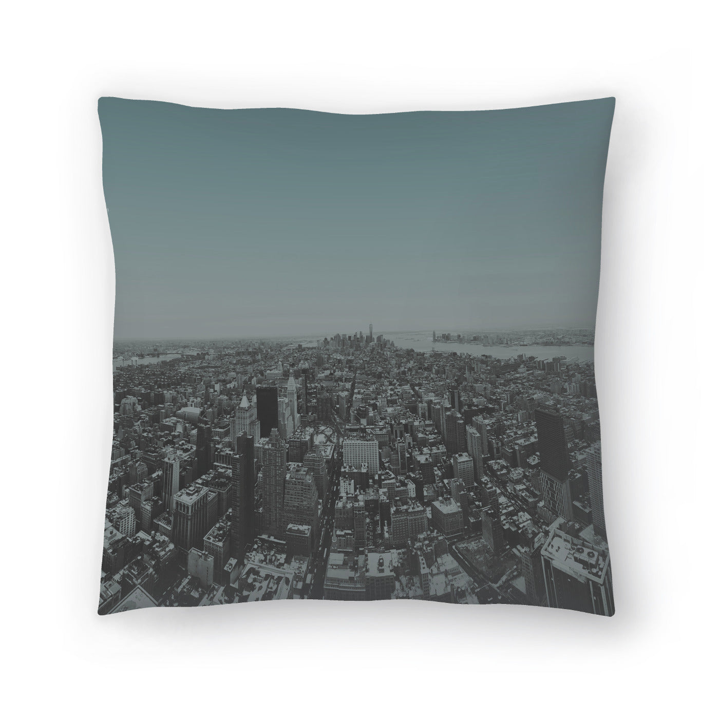 Manhattan by Leah Flores  Decorative Pillow - Decorative Pillow - Americanflat