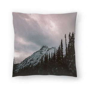 Mountain Love by Leah Flores  Decorative Pillow