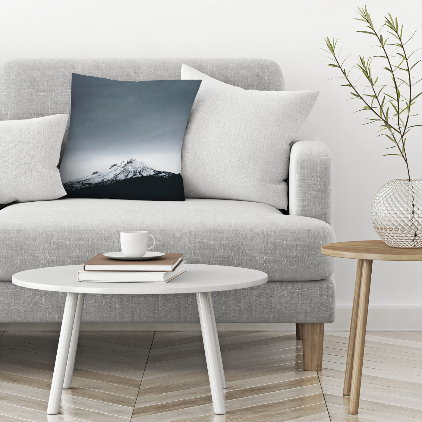 Mt Hood Oregon by Leah Flores  Decorative Pillow - Decorative Pillow - Americanflat