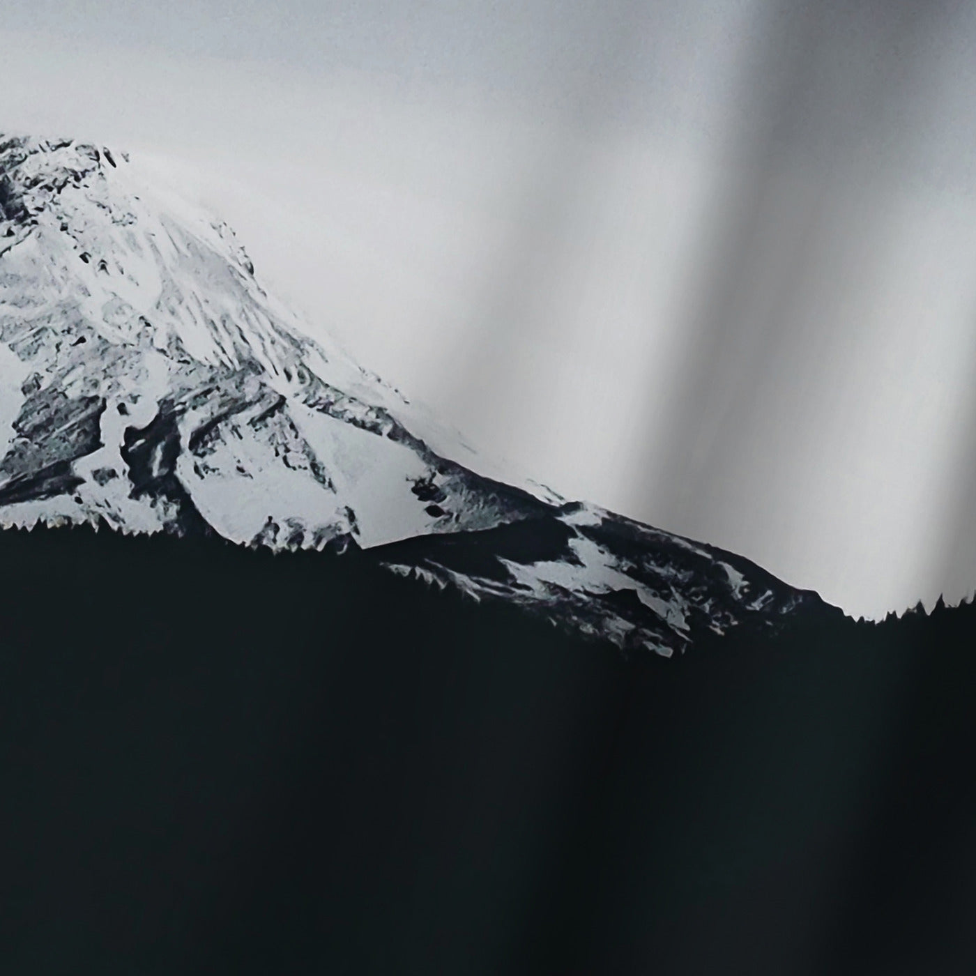 Mt Hood Oregon by Leah Flores Shower Curtain - Shower Curtain - Americanflat
