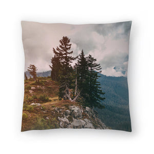 Northwest Forest by Leah Flores  Decorative Pillow