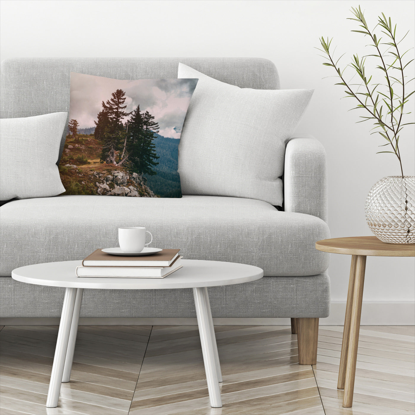 Northwest Forest by Leah Flores  Decorative Pillow - Decorative Pillow - Americanflat