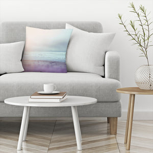 Ocean Pastel by Leah Flores  Decorative Pillow